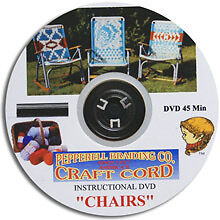 Macrame Lawn chairs DVD STEP-BY-STEP instructions