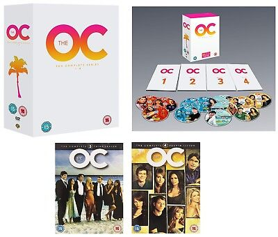 THE O.C. (2003-2007): COMPLETE Orange County OC TV Seasons Series R2 DVD not US