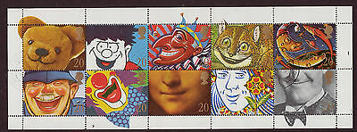 GREAT BRITAIN 1990 SMILERS GREETINGS SPECIAL OFFER FINE USED
