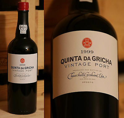 1999er Churchill Graham Vintage Port - Quinta da Gricha  *****