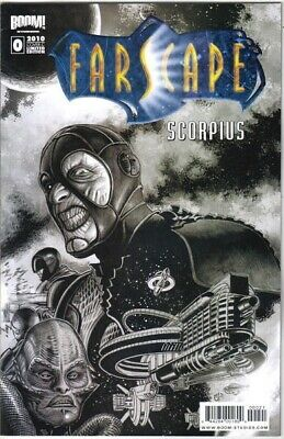 Farscape Scorpius Comic Book #0 Limited Edition Cover C, Boom! 2010 NEW UNREAD