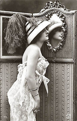 A4 Vintage 1920's Art Deco Pretty Nude Girls ..Victorian/Edwardian Beauties 211