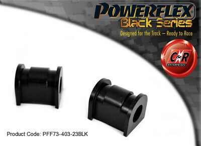 Suzuki Swift Sport 12 On Powerflex Black Front ARB Bushes 23mm PFF73-403-23BLK
