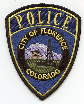 FLORENCE COLORADO CO new style POLICE PATCH