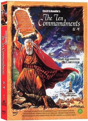 THE BIBLE COLLECTION (NEW) #14 The Ten Commandments (1956) DVD (New & Sealed)