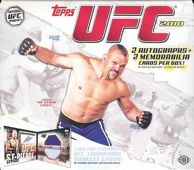 2010 Topps Ufc Series 4 Hobby 12 Box Case Blowout Cards