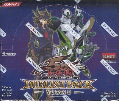 Yugioh Yusei 3 Duelist Pack Booster Box Blowout Cards
