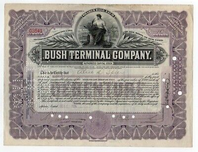 Bush Terminal Company Stock