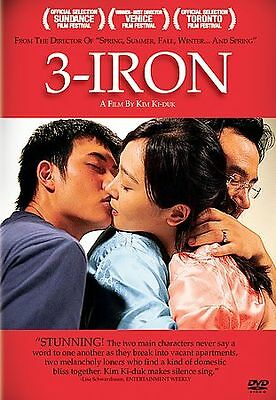 3-Iron (DVD, 2005)  Seung-yeon Lee, Hee Jae  NOT RATED BRAND NEW