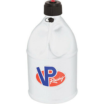 Vp Racing Fuel Jug Can Utility Gas Container Motorsports Round White 5 Gallon