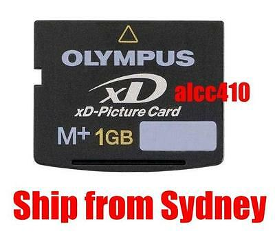 Olympus 1GB 1G GB Type M Plus M+ xD Picture Card Fuji Fujifilm in Sydney