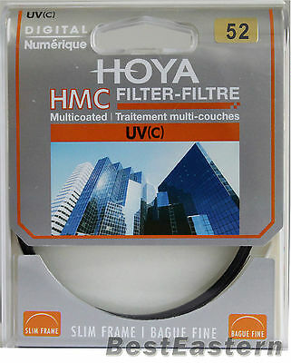Genuine HOYA HMC UV(C) 52mm Multi-Coated Slim frame lens filter