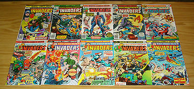 Invaders #1-41 VF/NM complete series + annual + giant-size 1-2 WWII heroes set