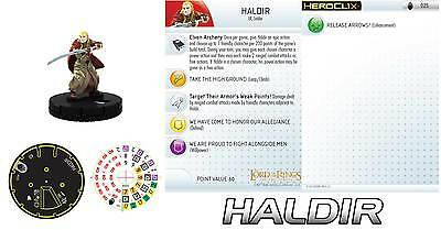 Heroclix 1x x1 Sharku 024 The Two Towers NM with card