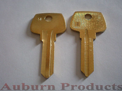 S1 Sargent Key Blank / 6 Key Blanks / Free Shipping / Check For Discounts