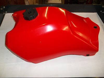 Honda Trx 300 2X4 + Trx 300Fw 4X4 1988-1992 New Red Plastic Fuel Tank Usa Made