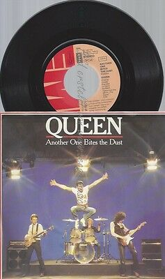 """7""""queen--Another One Bites The Dust"""