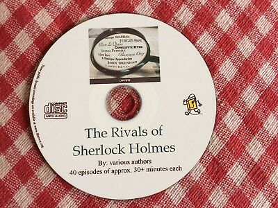 The RIVALS of Sherlock Holmes - Detective Mystery - audio books Mp3 CD