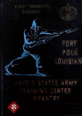Infantry US Army Training Center Fort Ft. Polk Louisiana 1965 Yearbook