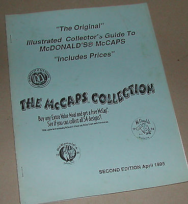 Illustrated Collector Guide to McDonals McCaps Collection Edition 1995