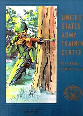 Infantry US Army Training Center Fort Ft. Bragg North Carolina 1968 Yearbook
