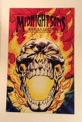 Midnight Sons Ashcan Edition Nm+9.6 Or  Better