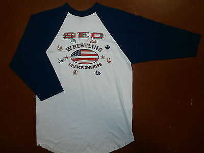 SEC CONFERENCE COLLEGE WRESTLING CHAMPIONSHIPS T SHIRT Jersey NCAA Tournament M