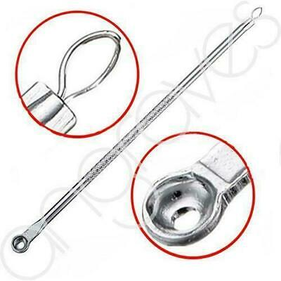 Stainless Blackhead Facial Acne Spot Pimple Remover Extractor Tool Comedone