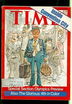 1976 Time Magazine: Inside Convention City/Olympic Preview/The Glorious 4th
