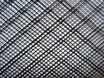 FINE STRONG BLACK FLEXIBLE HDPE 2mm INSECT FISH MESH SCREEN 0.8x0.4m PLASTIC NET