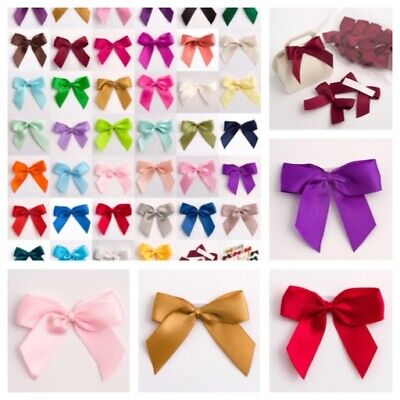 Self Adhesive Bows Satin Ribbon