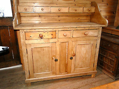 """1800""""s  PINE    COUNTRY  SIDEBOARD"""