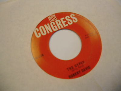 Robert Davie The Gypsy/As Time Goes By 45 RPM Congress Records VG