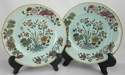 2 Bread & Butter Plates MING JADE by ADAMS CALYX WARE