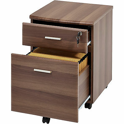 Two Drawer A4 Suspension Filing Pedestal for Home Office - Piranha Blenny PC 10w