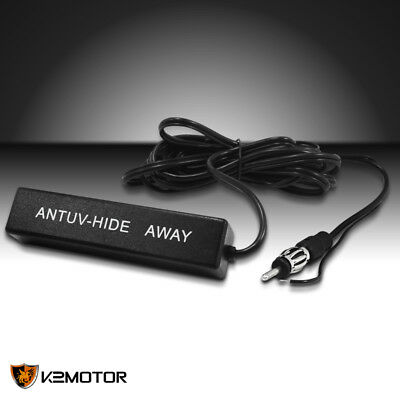 Electronic Stereo Radio Am Fm Hidden Amplified Antenna Kit 12V Car Truck