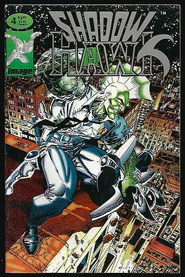 Shadowhawk  <Extra Spawn> Us Image Comic Vol.1 # 4/'93