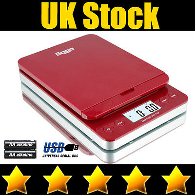 Saga Digital Postal Scale 40Kg X 5G Shipping Letter Parcel Scale Weight Postage