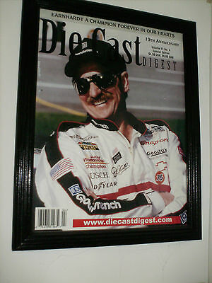 Dale Earnhardt Diecast Digest Memorial Edition In Frame Mint Condition