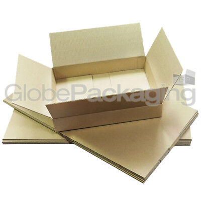 10 x NEW DEEP Max Size Royal Mail Small Parcel Packet Postal Boxes 350x250x160mm