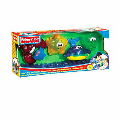 Fisher Price Stay & Play Bath Friends