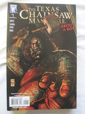 """The TEXAS CHAINSAW MASSACRE : """"ABOUT A BOY"""", GORY ONE-SHOT. WILDSTORM.2007"""