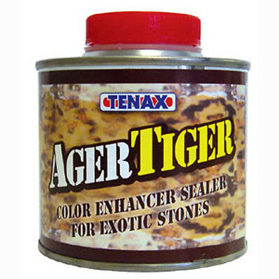Tiger Ager 1/4 Liter Color Enhancing Granite, Marble & Stone Sealer From Tenax