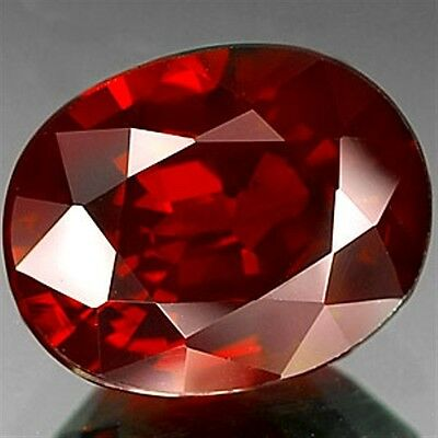 1.05 CT ~  Red Garnet Oval ~ Natural Gemstone