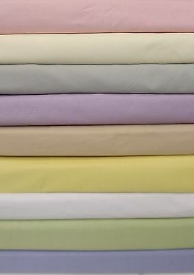 4' bed frilled fitted valance(over the mattress) sheet 68pick 13 colours