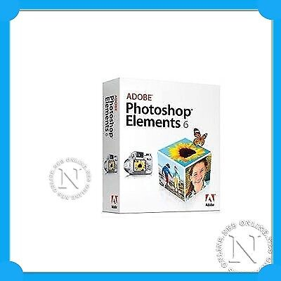 Adobe Photoshop Elements 6.0+Premiere Elements 4.0 for WINDOWS full version
