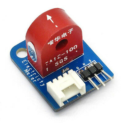Analog Current Meter AC 0~5A Ammeter Sensor Board for Arduino UNO PIC AVR MCU DS
