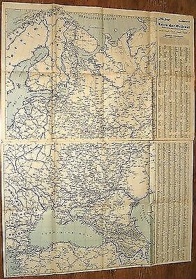 Eastern Front Ostfront Special Issue 2 Maps  WW II Germany 1943