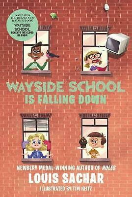 Wayside School Is Falling Down by Louis Sachar (English) Paperback Book Free Shi