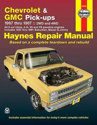 Chevrolet and GMC Pickup 1967-1987 - Suburban, Blazer and Jimmy